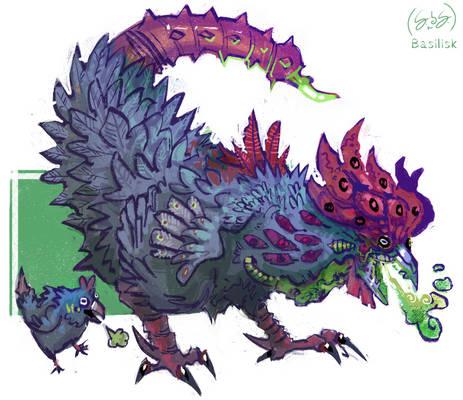 Arcadia's Creatures: Basilisk