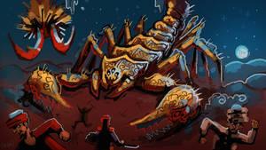 Double Stinger Giant Scorpion