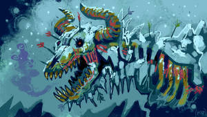 Frost Bite the Undead Ice Dragon