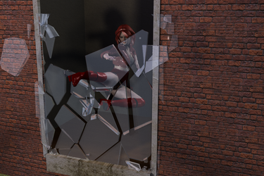 Pain of Glass Promo Render by westcpw