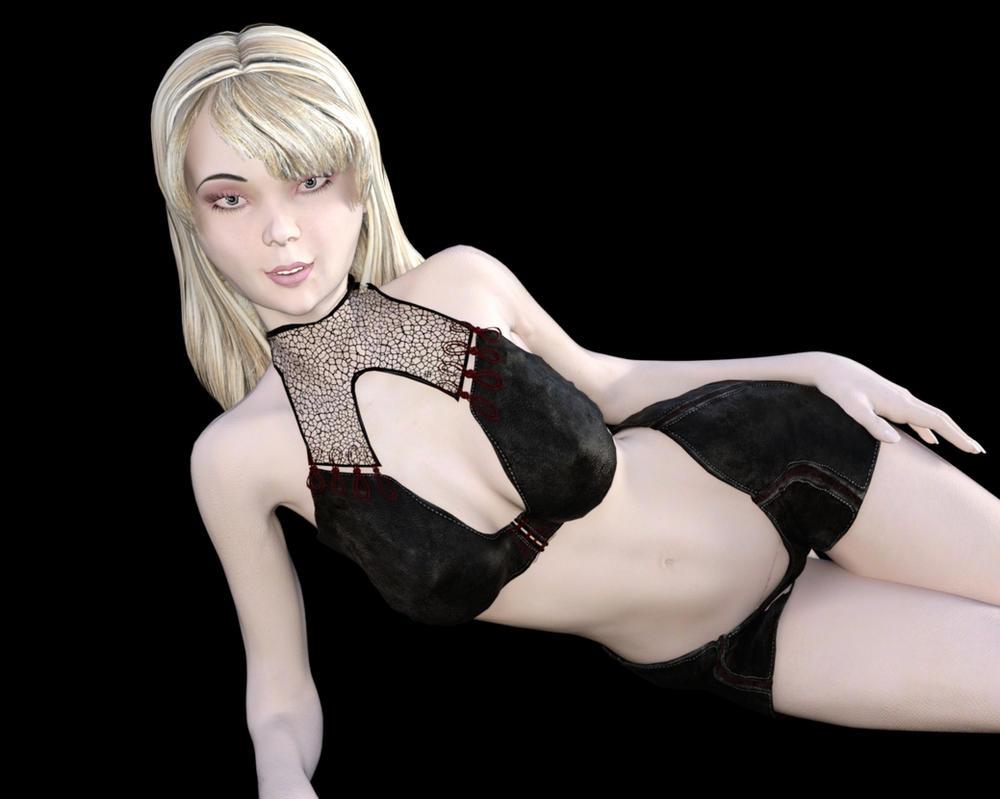Alexis Dark Bikini by westcpw