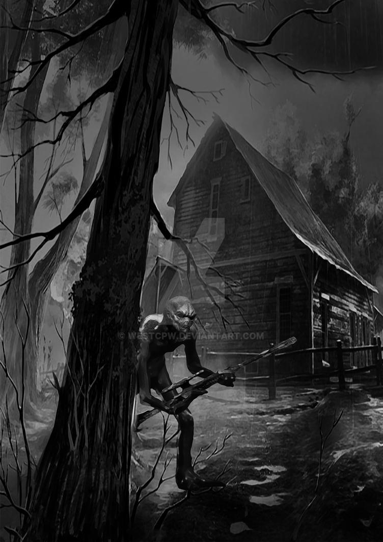 Alien Grey Scout | DarkEraRPG by westcpw