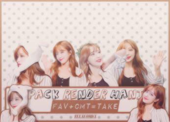 Pack Render Hani #1 by ellalom