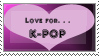 Kpop Stamp by DaniV-P