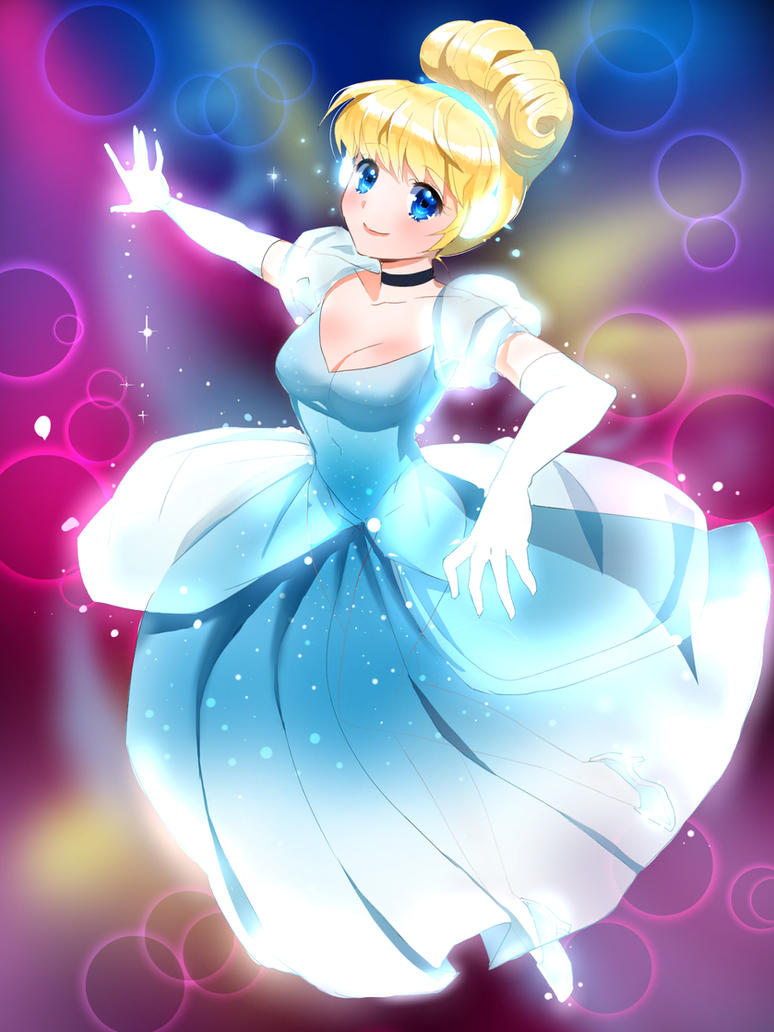 Cinderlla-Anime Style by U-Julgi