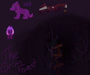 The Grimm Forest by LasagnaTheTrashcan