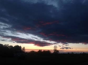 Sunset again by LasagnaTheTrashcan