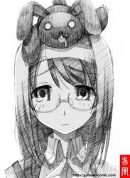 Akane with Seppuku_Kurousagi by gofu-web