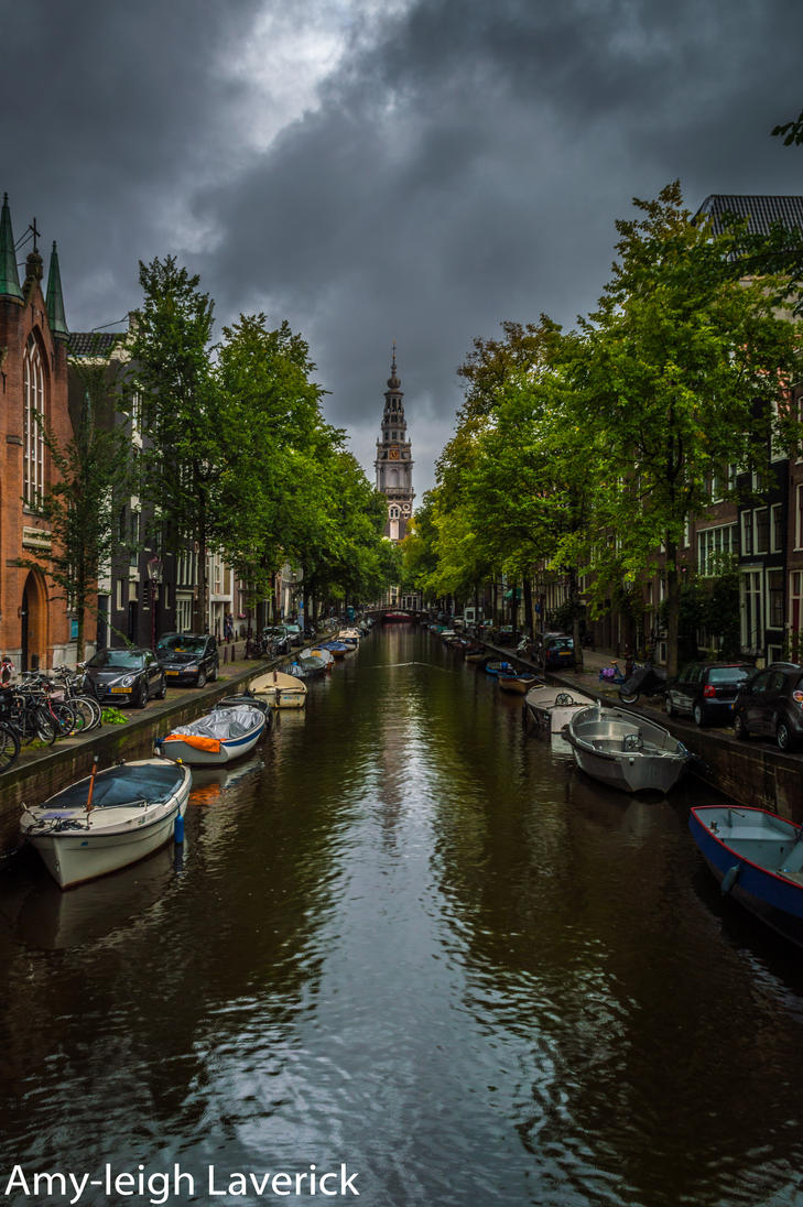 Amsterdam Canal by Princess-Amy
