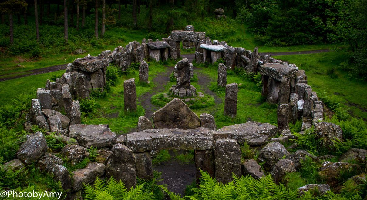 The Druids Temple.