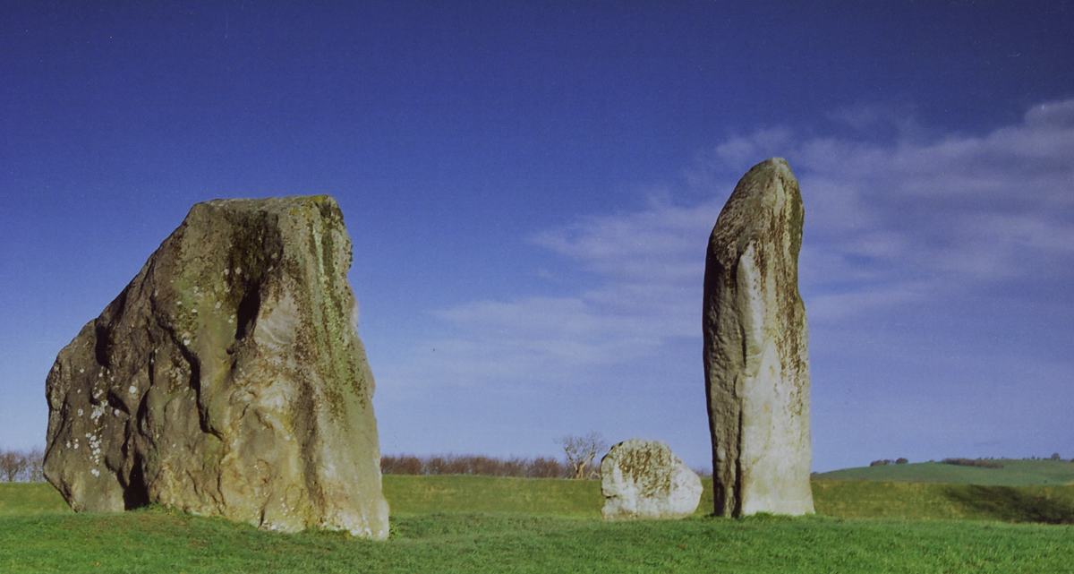 Avebury- Three standing stones by Princess-Amy