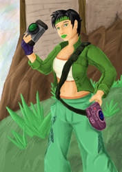Jade from 'Beyond Good and Evil' by DaemonStalley