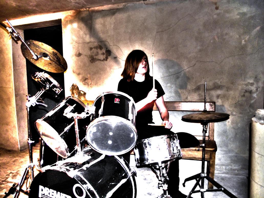 me playing drums by luisharding on deviantart. Black Bedroom Furniture Sets. Home Design Ideas