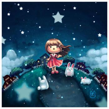 Falling Stars by bw-inc