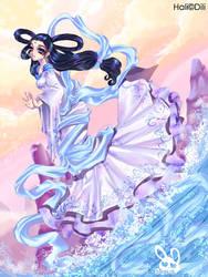 Hali: Water Goddess 4 Dili by bw-inc