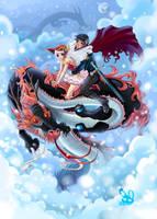 Dragon Ride by bw-inc