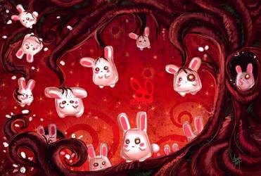 Kelly Bunnies by bw-inc