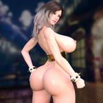 Chun-Li Nude by agentsherif