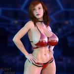 Busty Stripper by nordfantasy