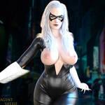 Black Cat - Marvel (2) by nordfantasy