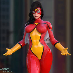 Spider-Woman by nordfantasy