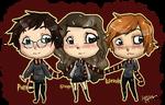 Gryffindor Trio by Anniepopokios