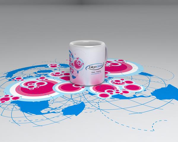 Bilge Data Cup Design by cihanYILDIZ