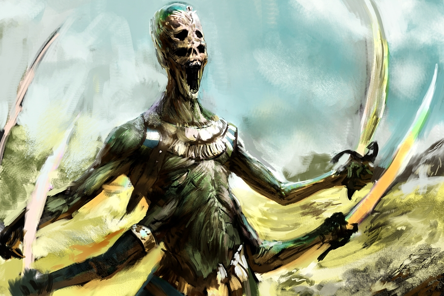 Undead Vosgonian Warrior By Herckeim On Deviantart
