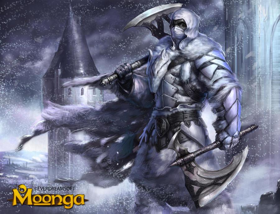 Knight of Winter by Herckeim