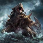 Shelled Sea Monster