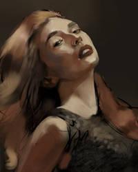 Woman 2 - Portrait study
