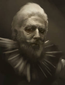 Old guy 4 - Portrait study