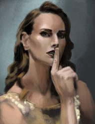 Woman 3 - Portrait study