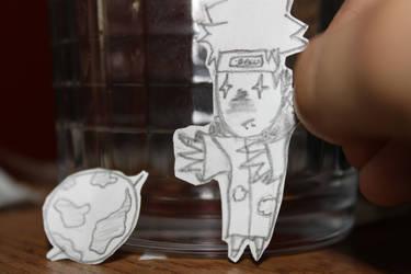 Paper Child - Pein by XcheminX