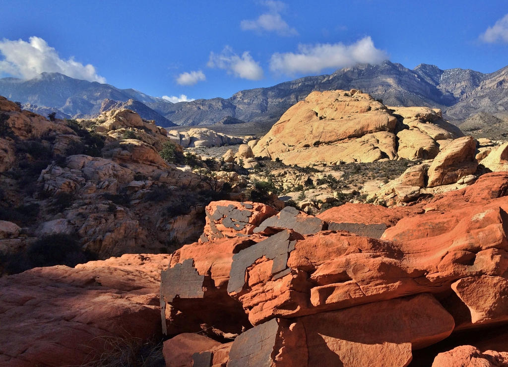 Red Rock View by Monkeystyle3000