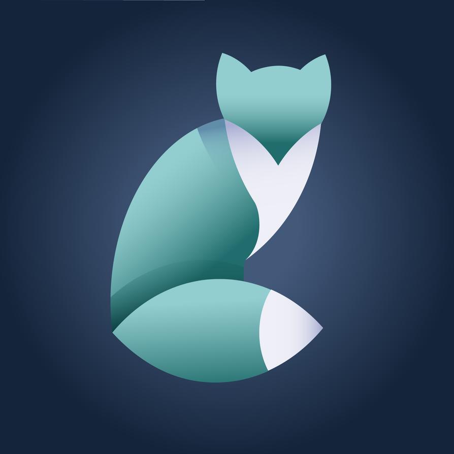 Blue Fox (08.07.2018) by xokache