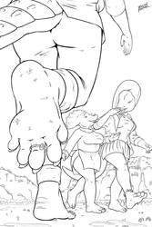 Stomping Grounds (Line Art)