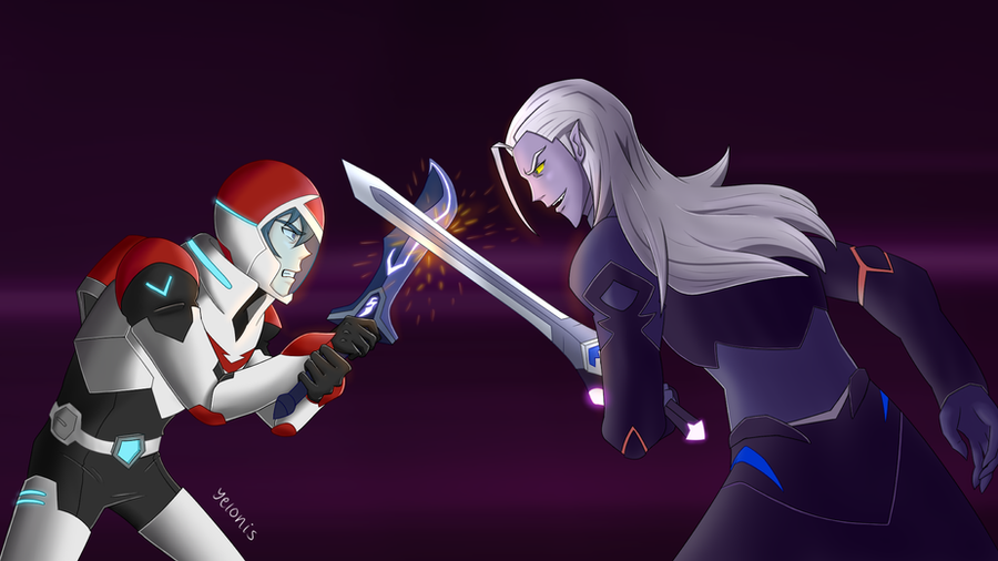 Keith vs Lotor by Yelonis