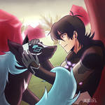Keith and his Cosmic Wolf