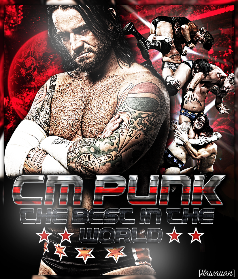CM Punk Poster by AndrewWantsYouV1