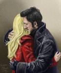 The Captain Swan hug