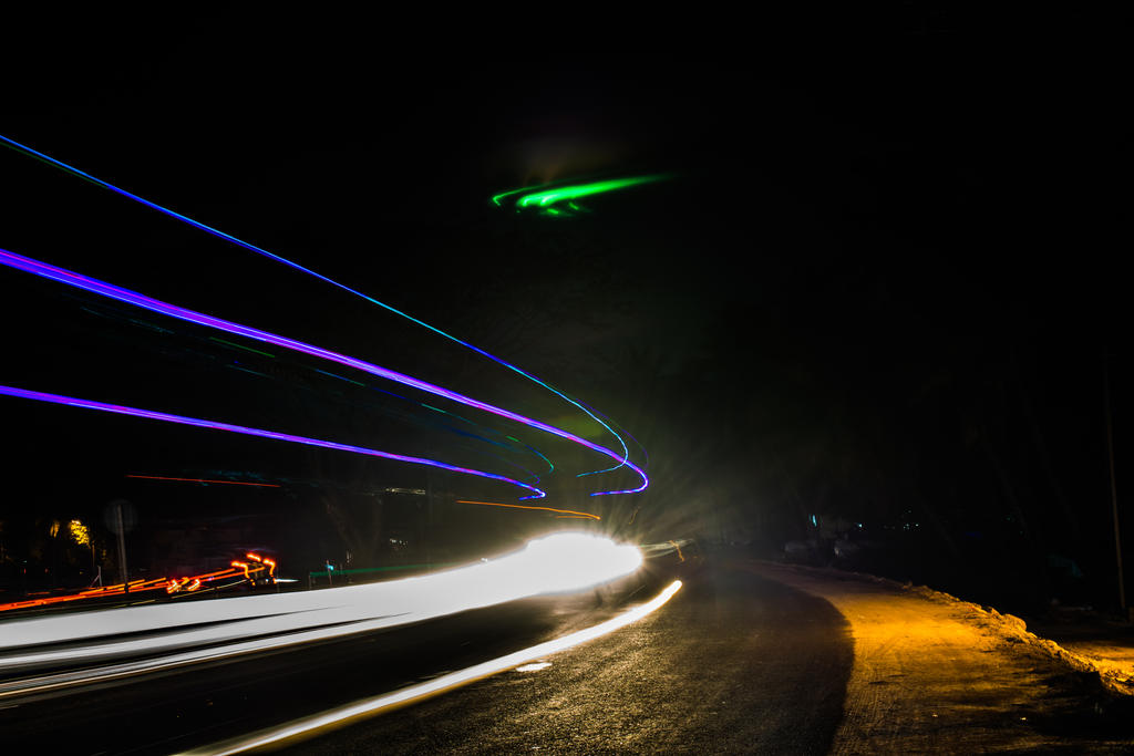 Light Trails by CreativePsych