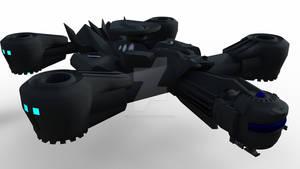 Rhino Drop Ship-Drone and Pod for Daz Studio by Ca