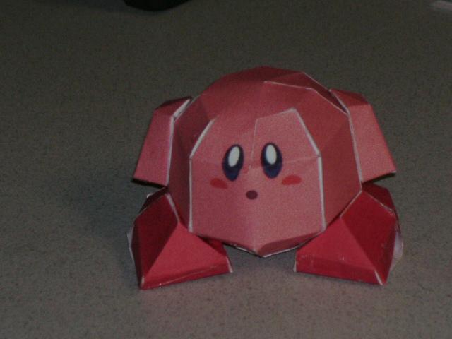 Papercrafts Papercraft_Kirby_by_Esteban1988