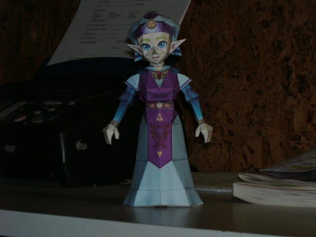Papercrafts Papercraft_Princess_Zelda_by_Esteban1988