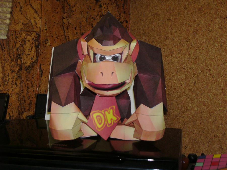 Papercrafts Papercraft_Donkey_Kong_N64_1_by_Esteban1988