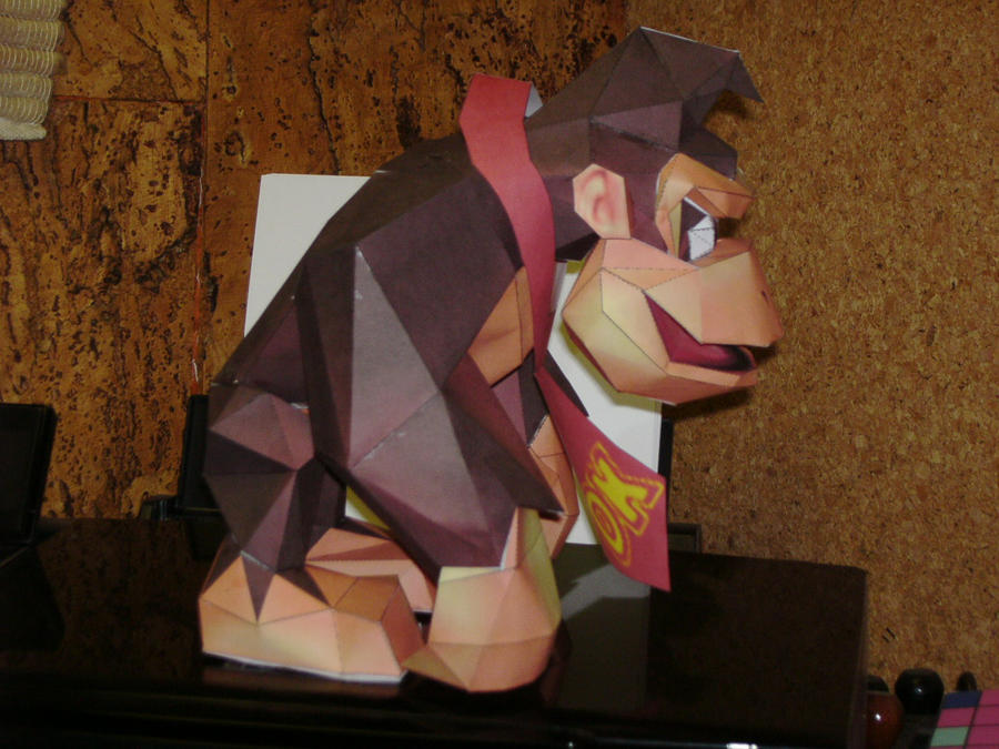 Papercrafts Papercraft_Donkey_Kong_N64_2_by_Esteban1988