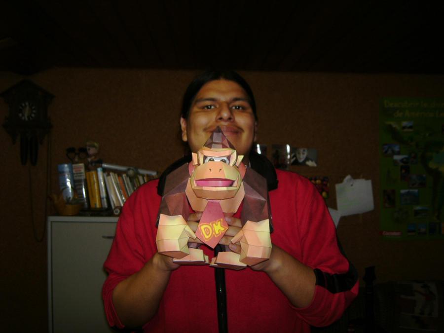 Papercrafts Papercraft_Donkey_Kong_N64_3_by_Esteban1988