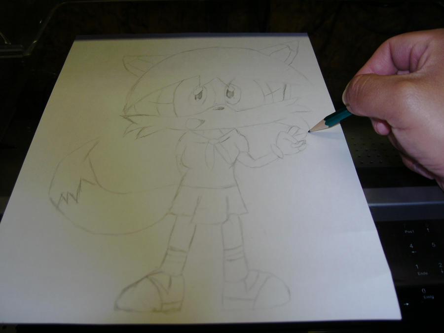 Eure Skizzen/Zeichnung! Me_drawing_Dani____new_Outfit___by_Esteban1988