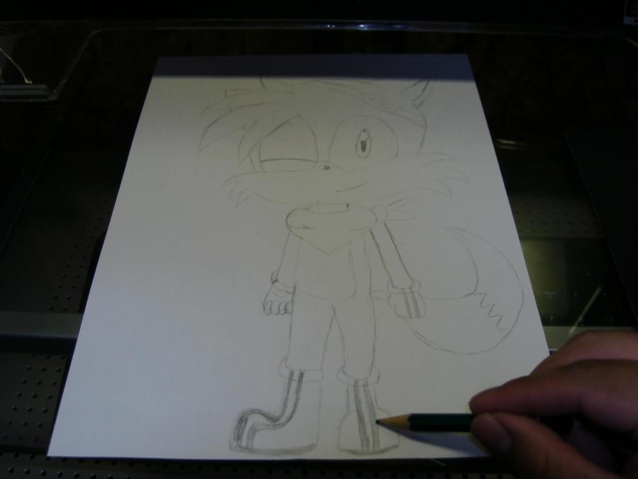 Eure Skizzen/Zeichnung! Me_drawing_Skater_by_Esteban1988